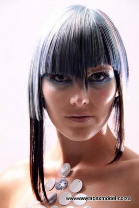 female modeling model charmaine