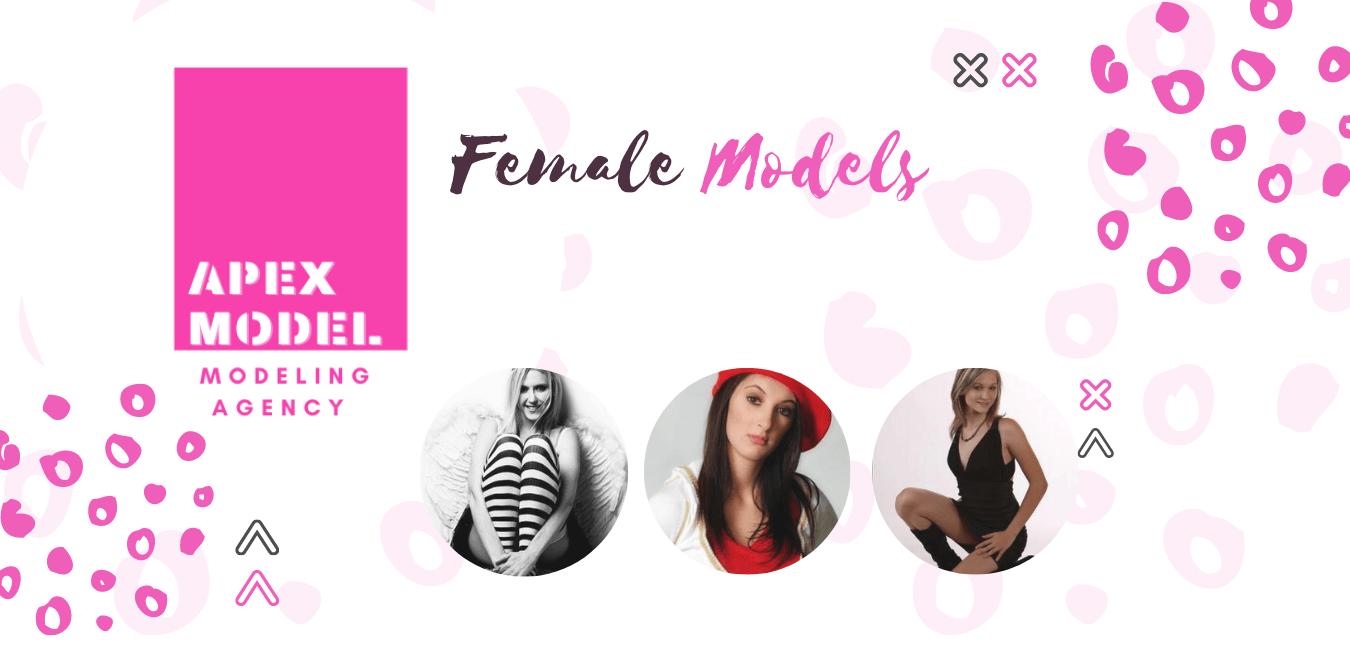 female modelling models